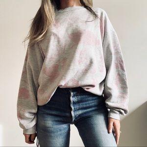 Vintage 90s Oversized Grunge Bunny Sweatshirt